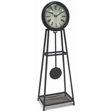 Wrought Iron Pendulum Table Clock