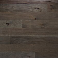 """Character 3-1/4"""" Engineered Hickory Flooring in Ember"""