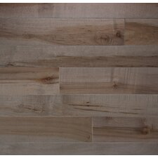 """Character 5"""" Solid Maple Flooring in Onyx"""
