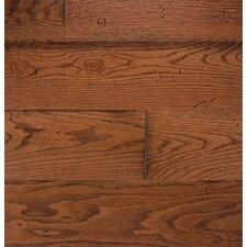 """Wide Plank 7"""" Engineered Oak Flooring in Gunstock"""