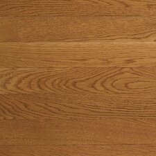 "<strong>Somerset Floors</strong> Value Strip 2 1/4"" Solid White Oak Flooring in Vintage Brown"