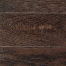 "American Country 5"" Engineered White Oak Flooring in Royal Brown"