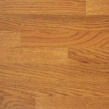 "Color Plank 5"" Engineered Red Oak Flooring in Golden Oak"