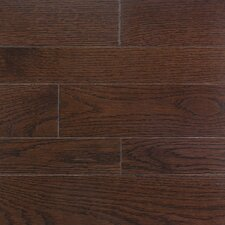 "Homestyle 3-1/4"" Solid White Oak Flooring in Metro Brown"