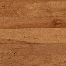 "Solid 2-1/4"" Maple Strip Flooring in Tumbleweed"