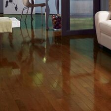 "Color Strip 3-1/4"" Solid White Oak Flooring in Spice High Gloss"