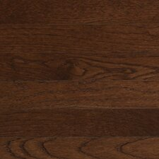 "Color Strip 3-1/4"" Solid White Oak Flooring in Metro Brown"