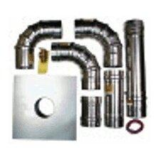 "Tankless Heaters 4"" Horizontal Termination Kit"