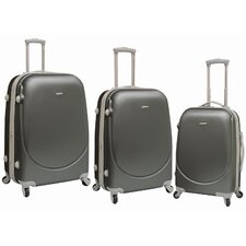 Barnet 3 Piece Expandable ABS Set with 360° 4-Wheels System