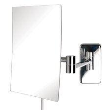Wall Mount Rectangular Makeup Mirror