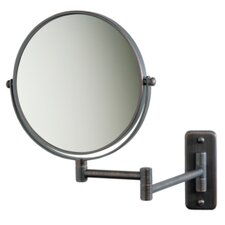 Regular 5X Magnifying Wall Mounted Mirror