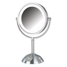 <strong>Jerdon</strong> Dual Sided 8x Lighted LED Vanity Mirror
