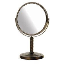 Dual Sided 5x Vanity Mirror