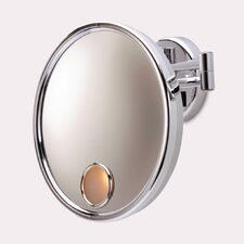 Euro Hard-Wired 3x Wall Mount Lighted Mirror