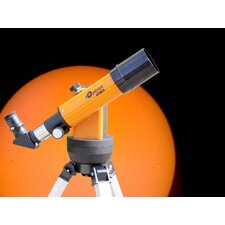 Refractor Solar Telescope with Electronic Eyepiece