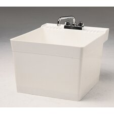 "Wall Hung 23"" x 21"" Service Sink"