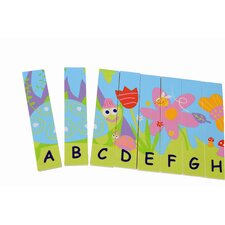 Wooden Double Sided Alphabet Puzzle