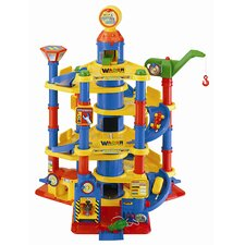 <strong>Wader Quality Toys</strong> Children's Parking Tower with 7 Floors and 2 Cars