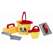6 Piece Children's Bucket Worker Set