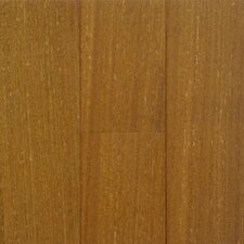 "Exotic 3-5/8"" Solid Teak Flooring in Natural"
