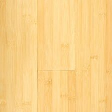 "Prefinished Horizontal 3-3/4"" Solid Bamboo Flooring in Natural Matte"