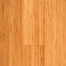 "Prefinished Vertical 3-3/4"" Solid BambooFlooring in Carbonized Matte"