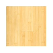 "Horizontal 5-3/8"" Engineered Bamboo Flooring in Natural Matte"