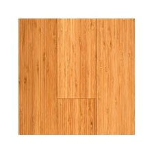 "Vertical 5-3/8"" Engineered Bamboo Flooring in Carbonized Matte"