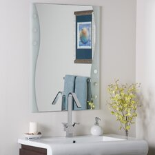 <strong>Decor Wonderland</strong> Frameless Maritime Wall Mirror