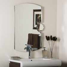 <strong>Decor Wonderland</strong> Frameless Addison Wall Mirror