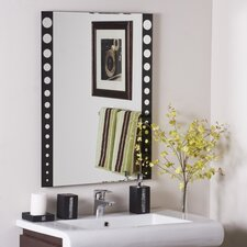 "<strong>Decor Wonderland</strong> 31.5"" H x 23.5"" W Santa Clara Wall Mirror"
