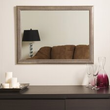 "<strong>Decor Wonderland</strong> 23.6"" H x 31.5"" W Modern Wall Mirror"