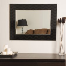 "<strong>Decor Wonderland</strong> 23.6"" H x 31.5"" W Sunlight Modern Wall Mirror"