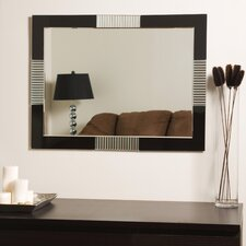 "<strong>Decor Wonderland</strong> 31.5"" H x 23.6"" W Francisco Wall Mirror"