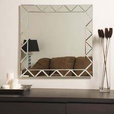 "<strong>Decor Wonderland</strong> 27.6"" H x 27.6"" W Luciano Wall Mirror"