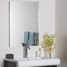 <strong>Decor Wonderland</strong> Flora Frameless Wall Mirror