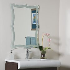 Coquette Frameless Wall Mirror