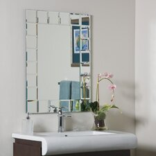"<strong>Decor Wonderland</strong> 31.5"" H x 23.6"" W Montreal Modern Wall Mirror"