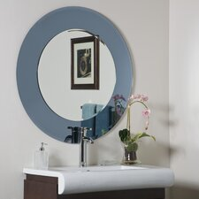 "<strong>Decor Wonderland</strong> 35"" H x 35"" W Camilla Modern Round Wall Mirror"