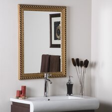 "31.5"" H x 23.6"" W Marina Framed Wall Mirror"