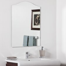"31.5"" H x 23.6"" W Allison Modern Bathroom Mirror"