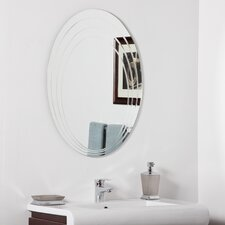 "31.5"" H x 23.6"" W Hanna Modern Bathroom Mirror"