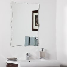 "31.5"" H x 23.6"" W Bailey Modern Bathroom Mirror"