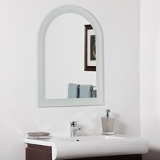 "31.5"" H x 23.6"" W Serenity Modern Bathroom Mirror"