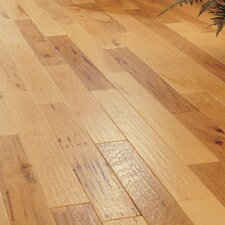 """5"""" Engineered Hickory Flooring in Spicy Cider"""