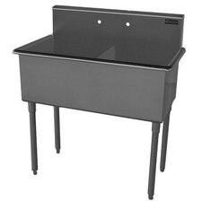 "Double Bowl 39"" x 22"" Scullery Sink"