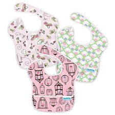 SuperBib Girl's 3 Pack