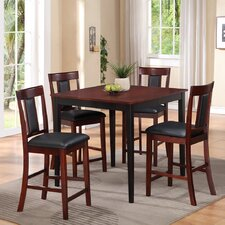 <strong>American Furniture Classics</strong> Casual 5 Piece Counter Height Dining Set