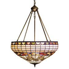 <strong>Meyda Tiffany</strong> Tiffany Edwardian 3 Light Inverted Pendant