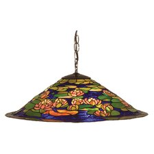 Tiffany Pond Lily 3 Light Pendant